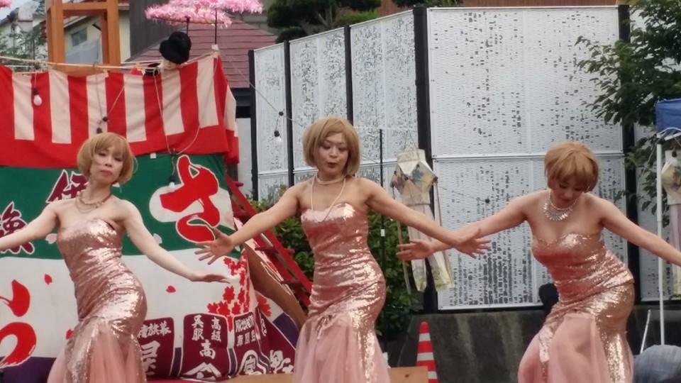 三好直美率いるBBダンサーズ